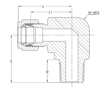 Imperial_range_Tapered_thread_male_elbow_linedrawing