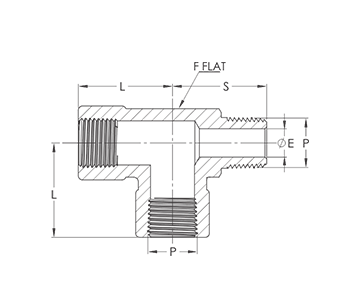 female-to-male-to-female-npt-street-tee-drawing-industrial-valves-manifolds-ivi-india-mumbai